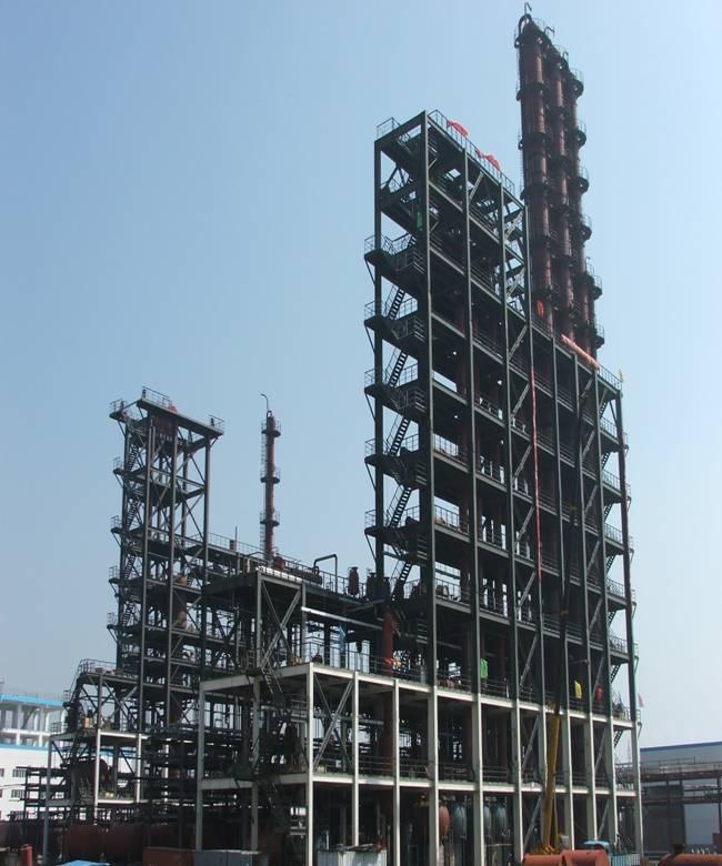 江苏梅兰化工股份乐天堂网址登录的年产4万吨有机硅装置